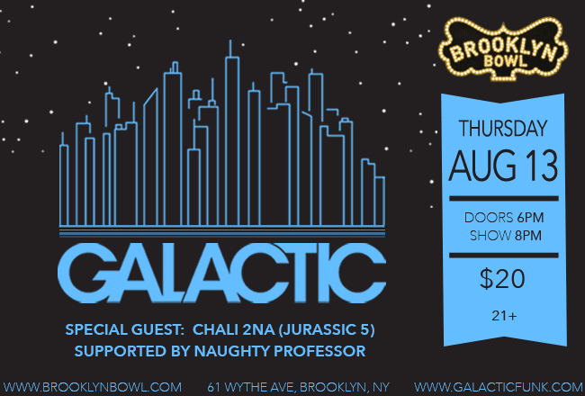 show with galactic