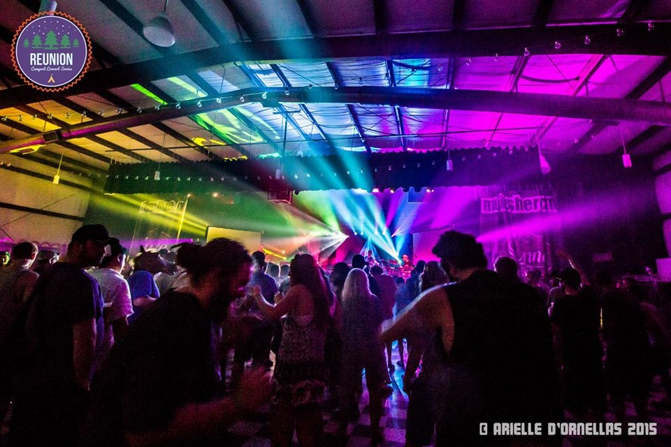 Jamtronic blowout at Reunion: Campout Concert Series • MUSICFESTNEWS