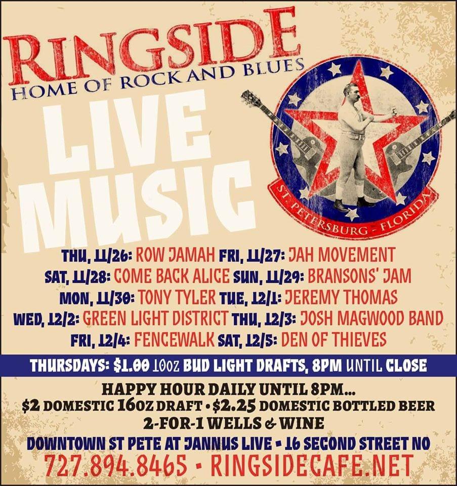 ringside cba poster • MUSICFESTNEWS