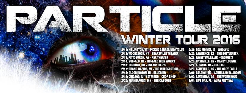 Particle on Winter Tour, to Debut Material from New Album