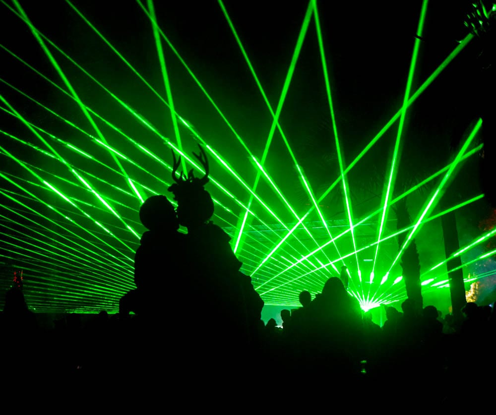 Jungle 51 lit things up late into the night. Photo: Amanda Nulph // MusicFestNews