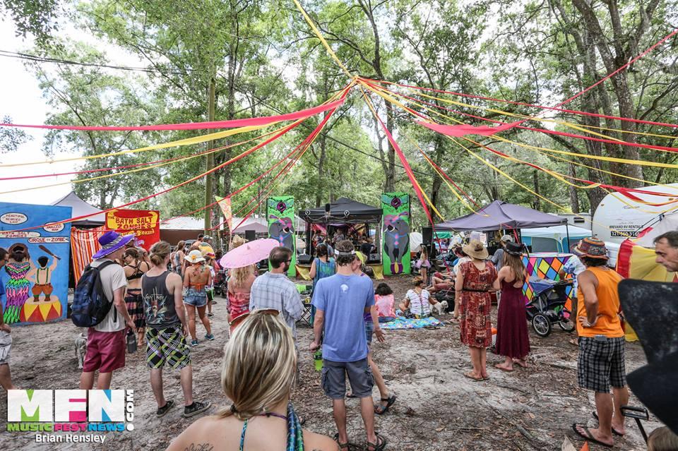 Bath Salt Zombie's Cirque du Zombé stage