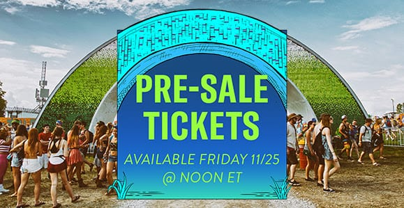 Bonnaroo Black Friday Pre Sale and chance to win tickets