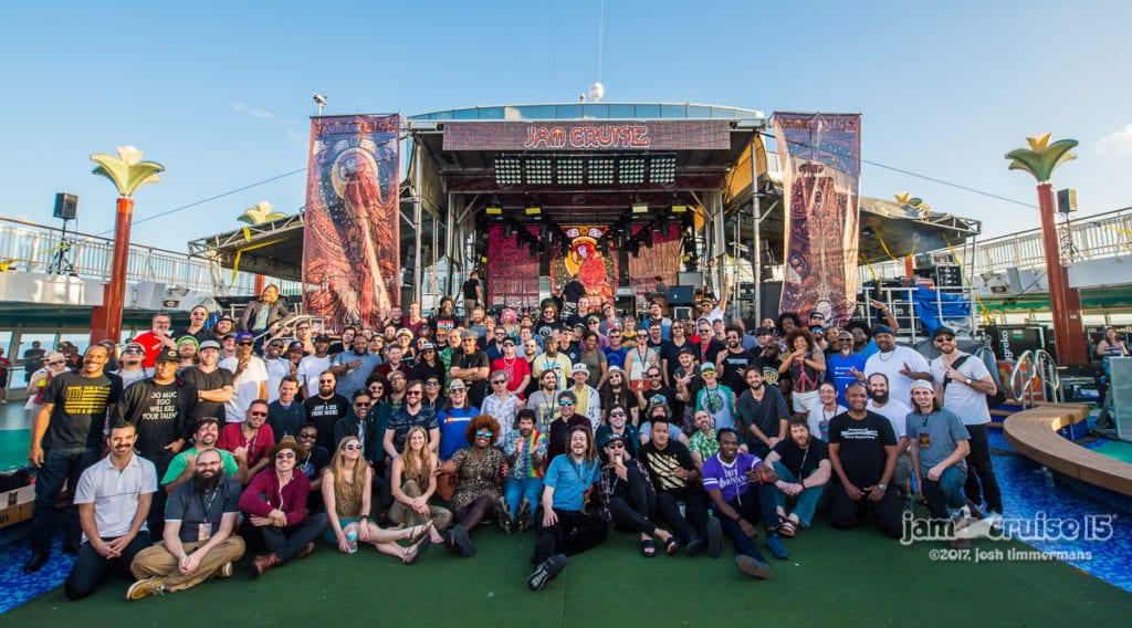 Jam Cruise 15 musicians!