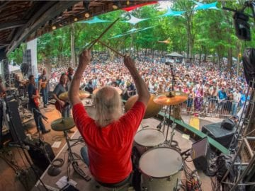 Butch Trucks at Wanee Photo by Jason Koerner via Wanee Festival Facebook