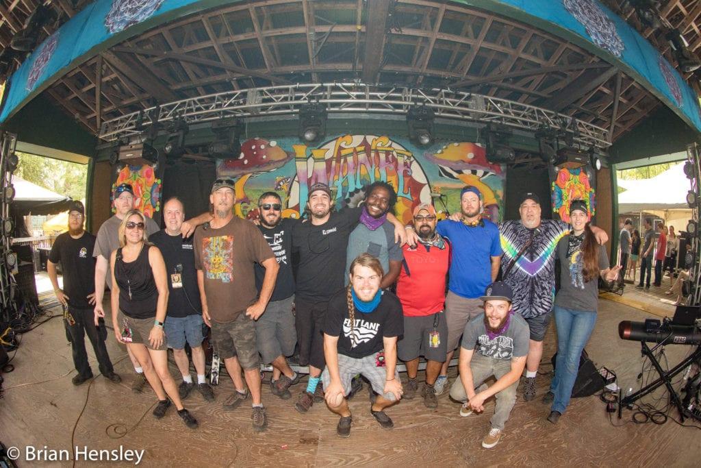 The Mushroom Stage crew