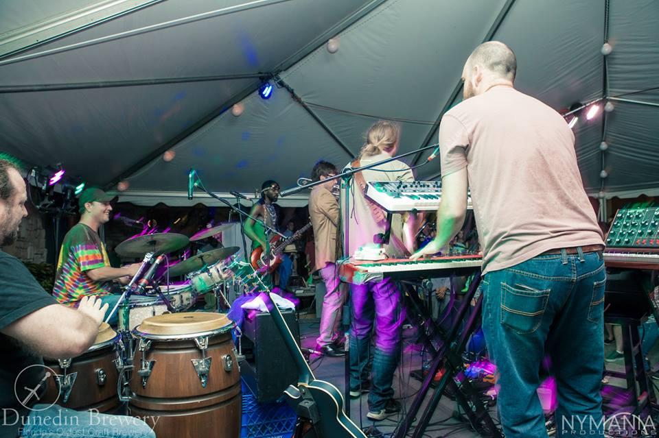 Michael Garrie on drums & Jim Wuest on keyboards