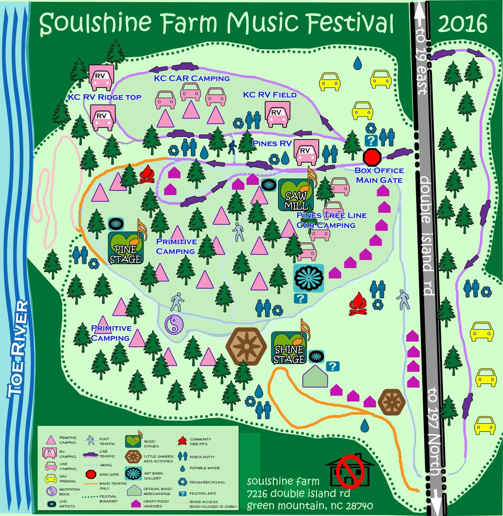 Gotta Let Your Soul Shine... at Soulshine Farm Music Festival ...