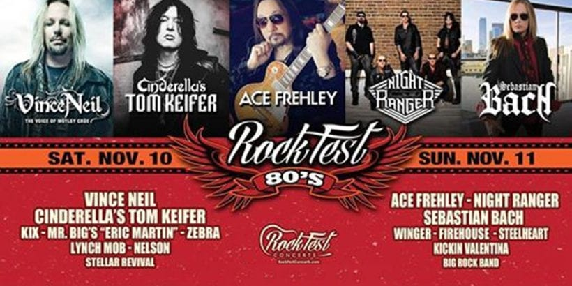 Rockfest 80's Rocks South Florida this Saturday • MUSICFESTNEWS