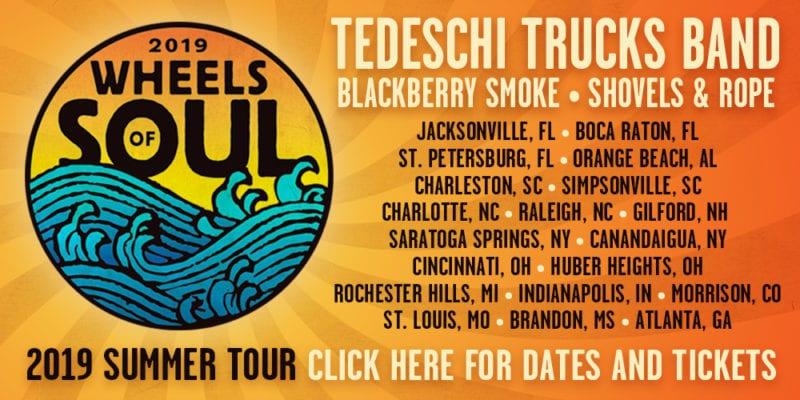 Tedeschi Trucks Band Kick Off 2019 Wheels of Soul Tour ...