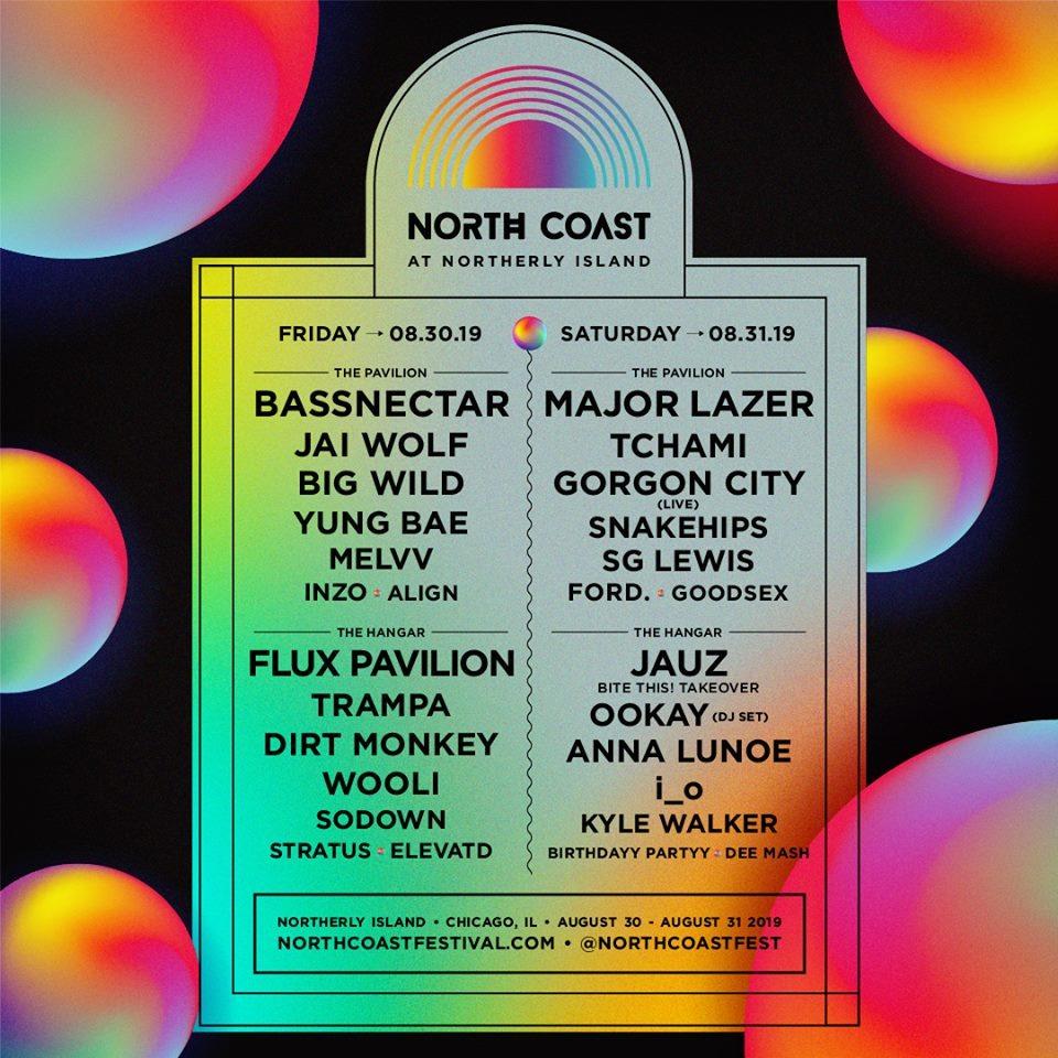 North Coast Music Festival 2019 Lineup Announced • MUSICFESTNEWS