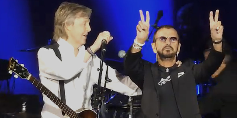 Image result for ringo joins paul pictures