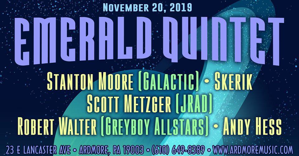 Emerald Quintet: Philadelphia, Brooklyn & Denver - Music Fest News